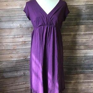 Old Navy 2018 COTY purple maternity dress
